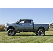 Silver Dodge Ram 3500 Shocks  Lifted Trucks
