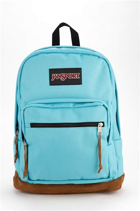 Backpack Blue lyst jansport right pack backpack in blue