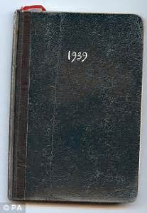 war declared the simple diary entry by prime minister
