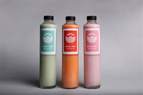 delicate milk tea branding milk tea packaging