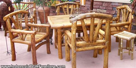 Log Patio Furniture by Log Wood Furniture Furniture Design Ideas