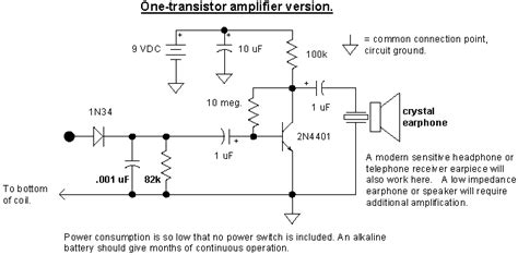 one transistor lifier audio radio circuits