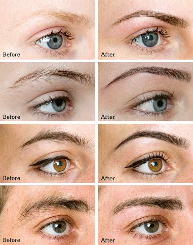 brows and professional brow shaping by spa medica