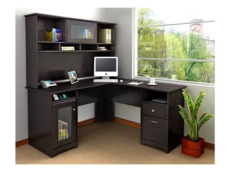 desk with shelves corner desk with shelves design homesfeed