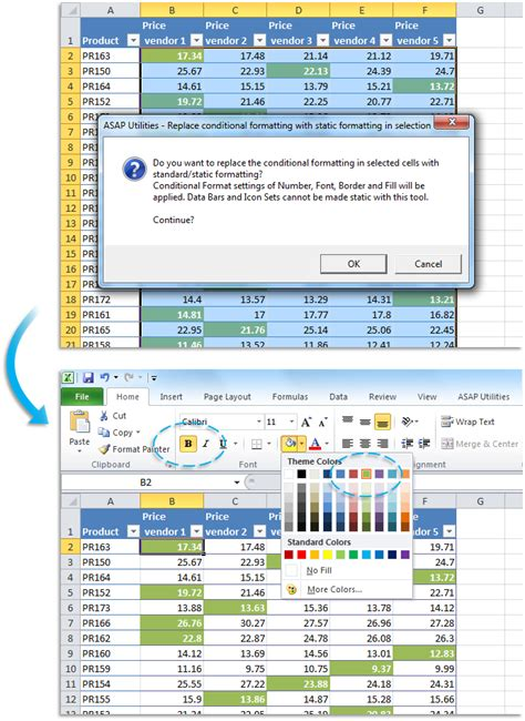 online tutorial excel 2007 apply conditional formatting to a range of cells excel