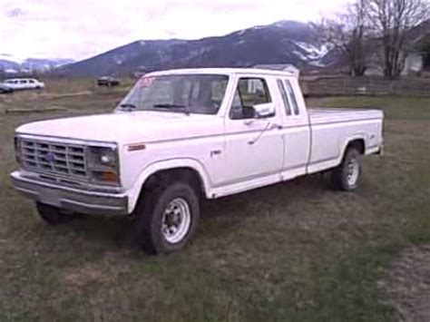 1985 ford f150 4x4 auto excab for sale.avi youtube