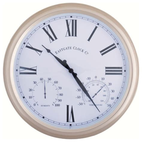 metal outdoor clock large contemporary outdoor clocks