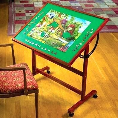 puzzle table with drawers full size of interior fancy