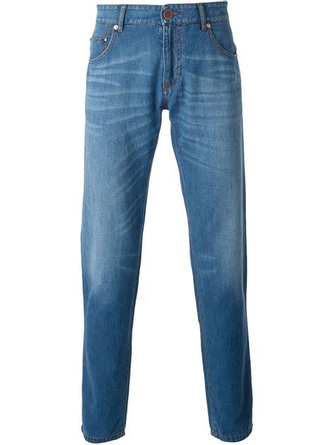 Giorgio Armani Blue by Giorgio Armani Regular Fit In Blue For Lyst