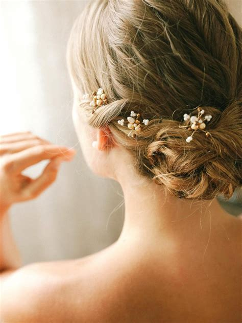 Wedding Hair With Pin by Bridal Pearl Bobby Pins Wedding Hairpins Bridal Bobby