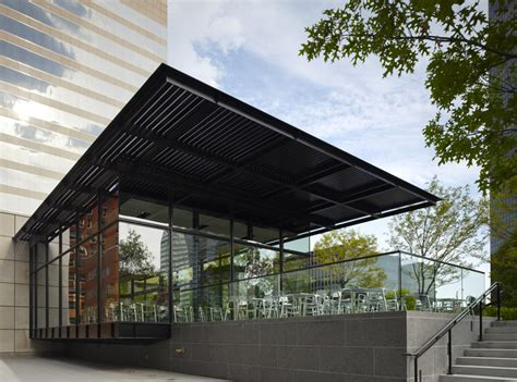 coffee shop 314 architecture studio archdaily terrace view cafe studio durham architects archdaily