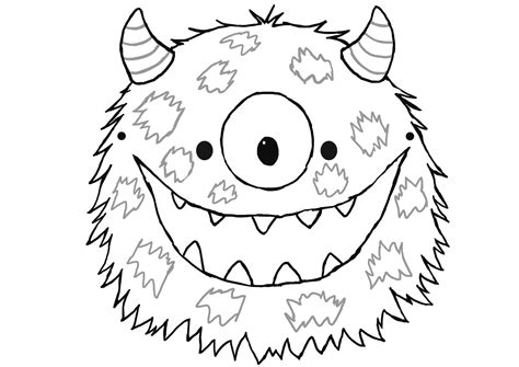 printable monster mask template best photos of cut out masks to color mardi gras mask