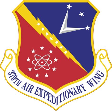 379th air expeditionary wing file 379th air expeditionary wing emblem png wikipedia