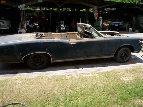 1966 Pontiac Gto Parts by Buy Used 1966 Pontiac Gto Convertible Project Parts