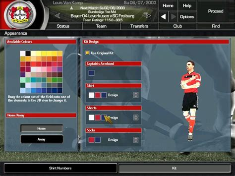 total club manager 2004 screenshots for windows mobygames
