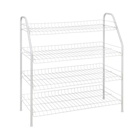 Closetmaid White Wire Shelving by Closetmaid 28 In H X 26 In W X 12 In D 4 Shelf
