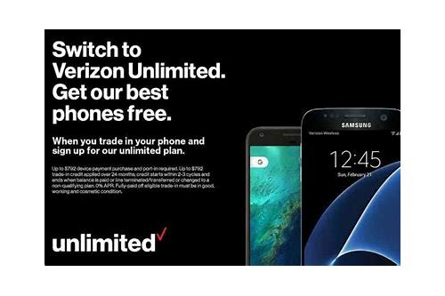 free phone deals from verizon