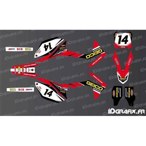 Motorrad Dekor Honda by Deko Kit F 252 R Honda Motorrad Idgrafix Fr Kit D 233 Co