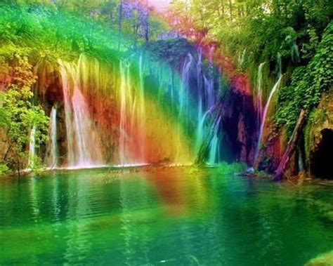 themes in the river god waterfall and rainbow waterfalls pinterest