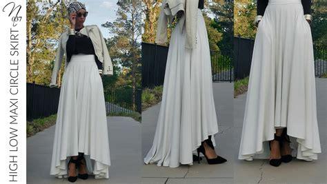nadira037 diy high low maxi circle skirt tutorial