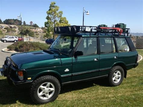 land rover discovery classic well built 1994 range rover classic swb bring a trailer