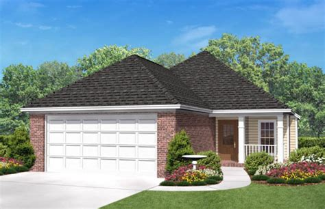 house plans for narrow lots with front garage country style house plan 3 beds 2 baths 1500 sq ft plan