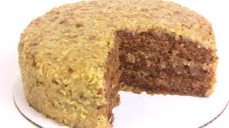 my old fashioned german chocolate cake recipe step by step cooking with carolyn youtube