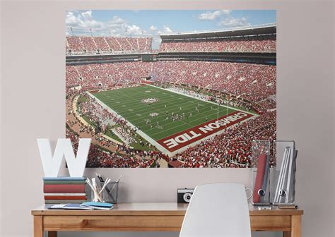 alabama bedroom decor alabama crimson tide bryant denny stadium corner view