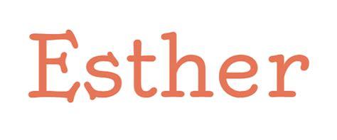 significado de ester significado de esther o ester