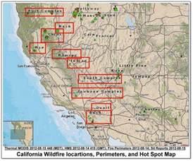 fires in northern california map cfn california news cal news look