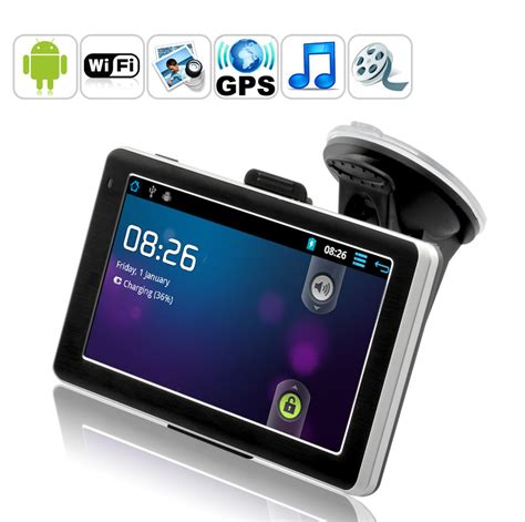 gps app for android cybernav mini 2 android tablet gps navigator 5 touchscreen 1 2 ghz cpu 512mb ddr3 8gb