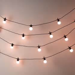 Hang Christmas Lights In Bedroom - bistro bulb fairy lights 20 bulbs contemporary outdoor fairy lights by the white company