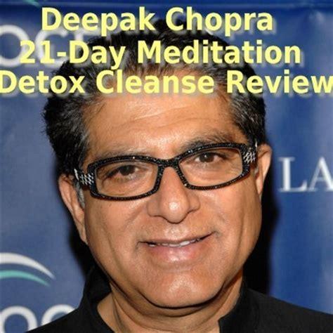 Deepak Chopra Detox Review dr oz deepak chopra 21 day meditation cleanse review