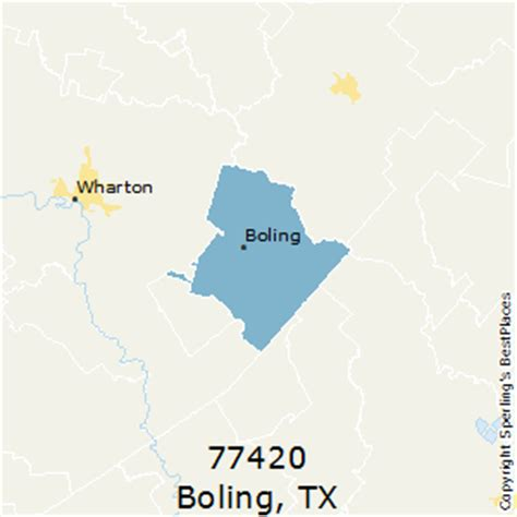 boling texas map best places to live in boling zip 77420 texas