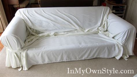 how to put a couch cover on how to diy slipcovers sofa covers for cheap and easy