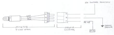 4 wire o2 sensor wiring diagram bosch o free