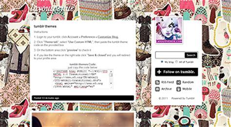 themes tumblr rare tumblr themes vintage tumblr themes tumblr layouts