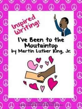 I Ve Been To The Mountaintop Speech Printable