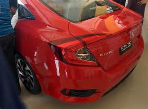 Honda Motors Pakistan Honda Civic 2016 Just Hit Showrooms And It S
