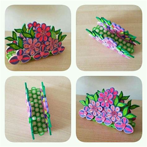 quilling craft tutorial video quilled flowers napkin holder quilling pinterest