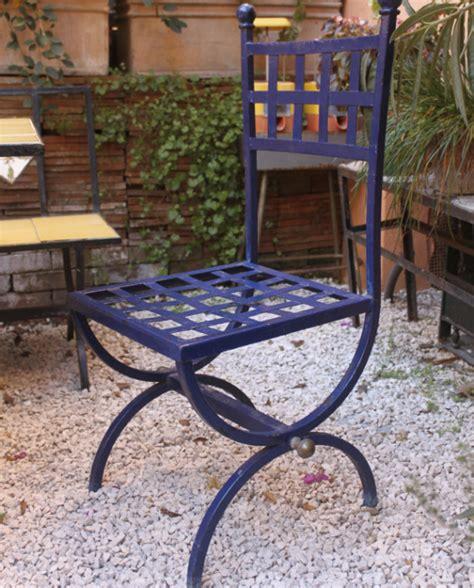 sedie in ferro da giardino sedie da esterno in ferro italia anni 70 peppa e nando