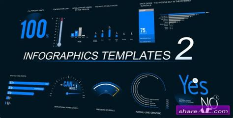 infographics template 2 after effects project videohive