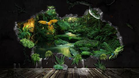 jungle wallpaper for home wallpapersafari