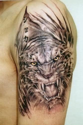 tiger skin tattoo designs 65 tiger tattoos designs ideas