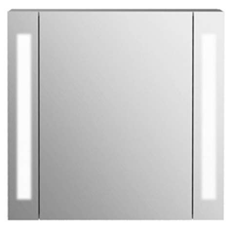 Bathroom Cabinet With Light And Shaver Socket Buy Odyssey Mirror Bathroom Cabinet Shaver Socket Lights White Silver From Our