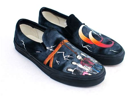 Painted Slip Ons a day to remember painted common courtesy vans slip