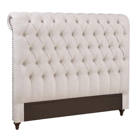 cal king tufted headboard coaster devon california king button tufted headboard in