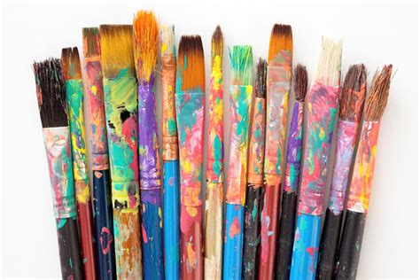 brush painting paint brushes