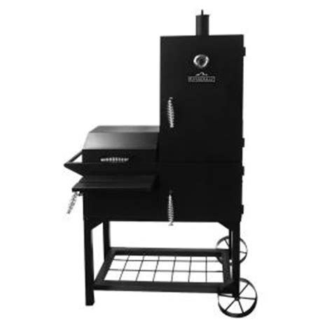 rivergrille vertical offset firebox grill and smoker