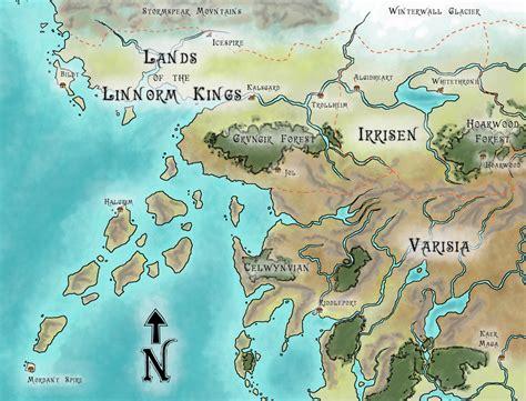 map golarion up northwest by whodrewthis on deviantart